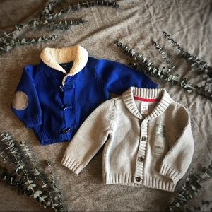 Baby Boy Old Navy & Carter's Sweater 9 months Lot